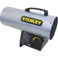 Stanley ST-50-GFA-E  Black/Yellow LPG Fan Heater 16.1kW
