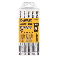 DeWalt Multi-Material Impact Driver Drill Bits Set 5 Piece Set