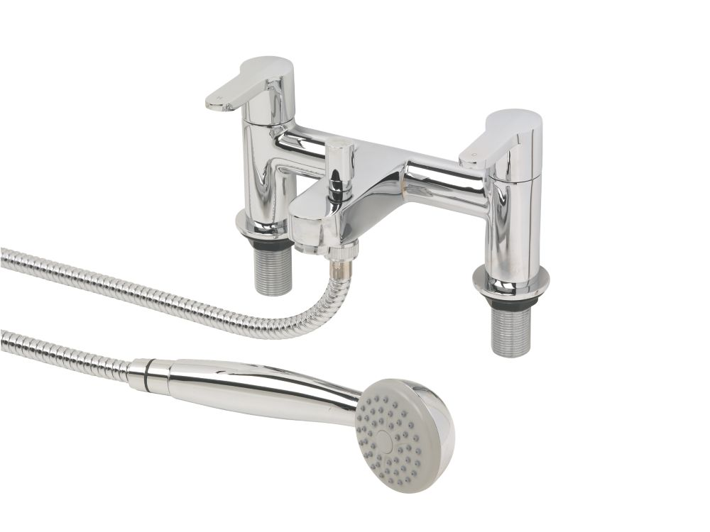 Swirl Elevate Dual Lever Bath/Shower Mixer Tap