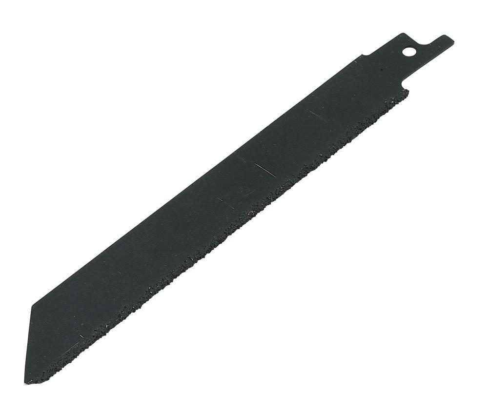 Tungsten Carbide Grit-Edged Recip Saw Blade