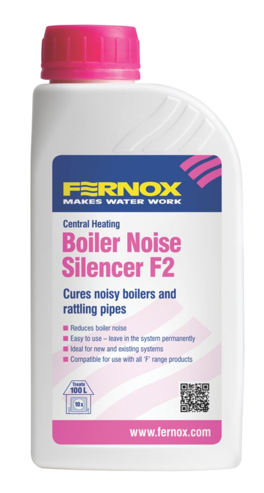 Fernox Central Heating Boiler Noise Silencer F2 500ml