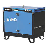 SDMO 6500TES 5200W Diesel Generator 230V/415V