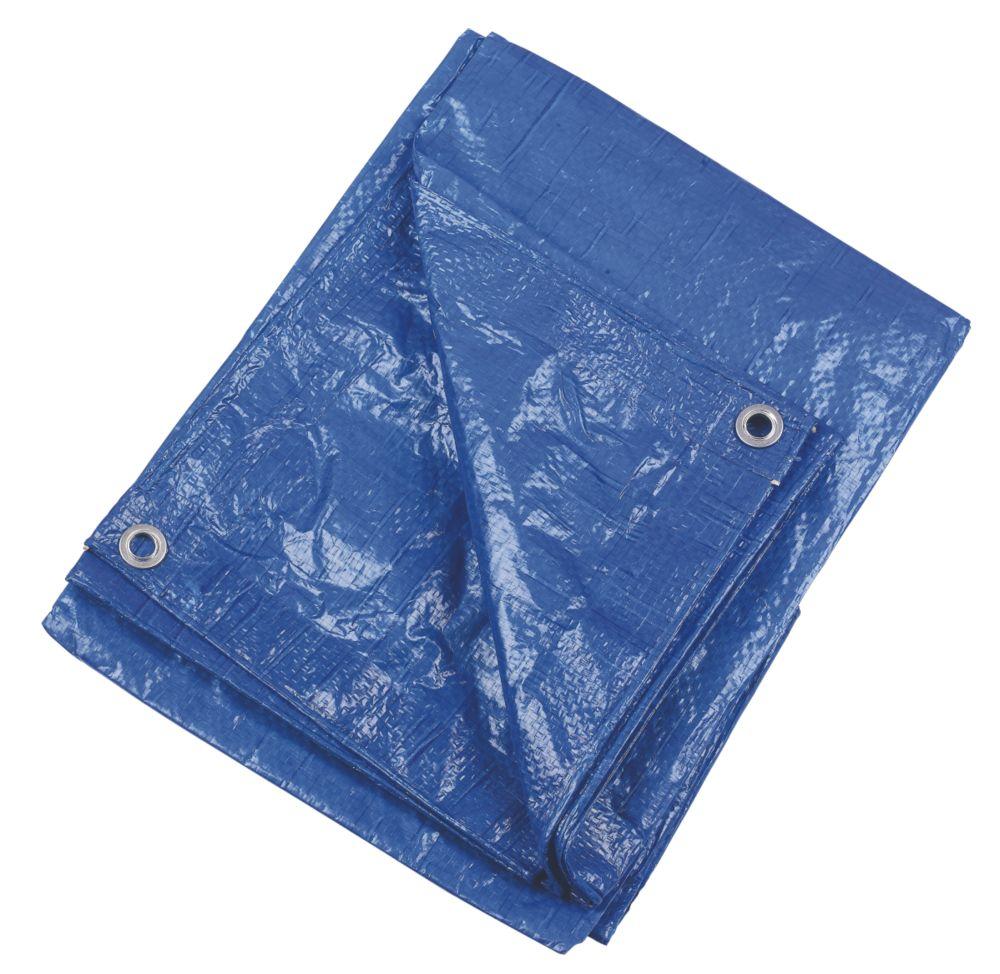 Blue Tarpaulin 1.71 x 2.27m