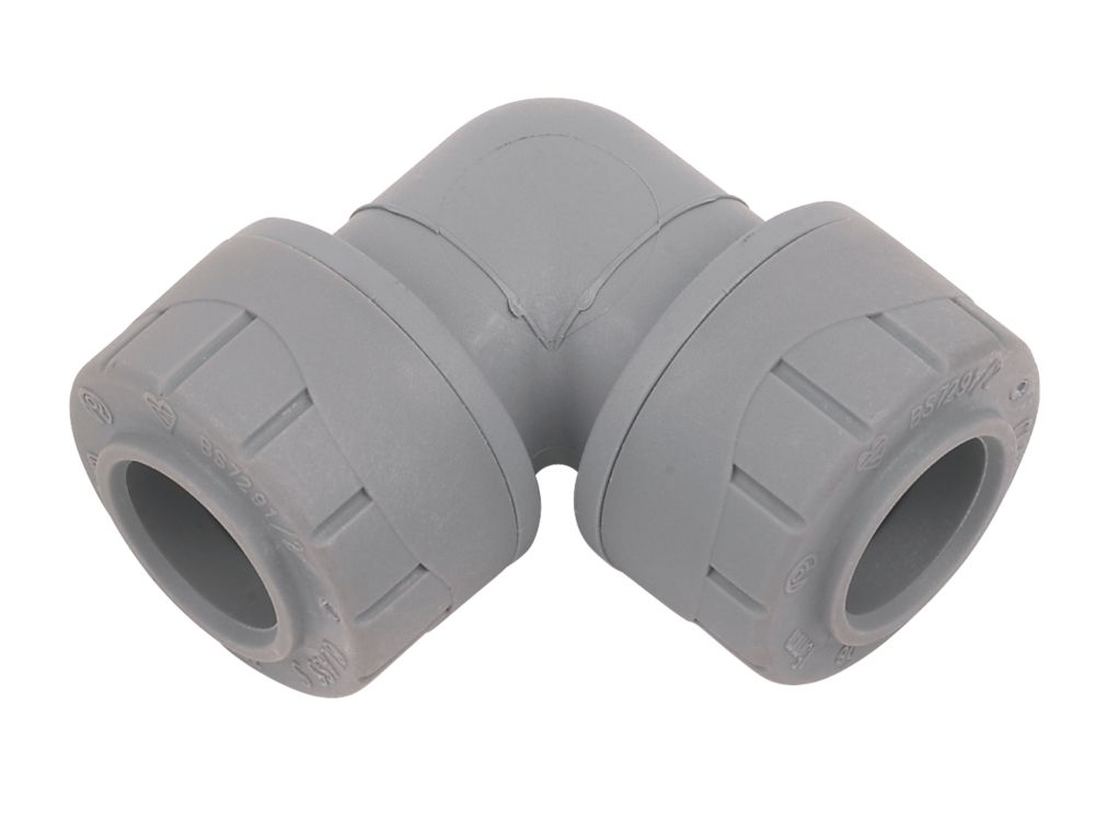 PolyPlumb Elbows 15mm Pack of 10