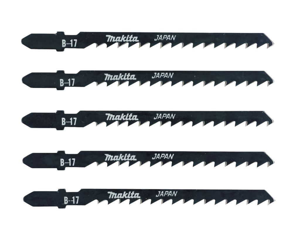 Makita T101AO Multi-Purpose Jigsaw Blades Bayonet Pack of 5
