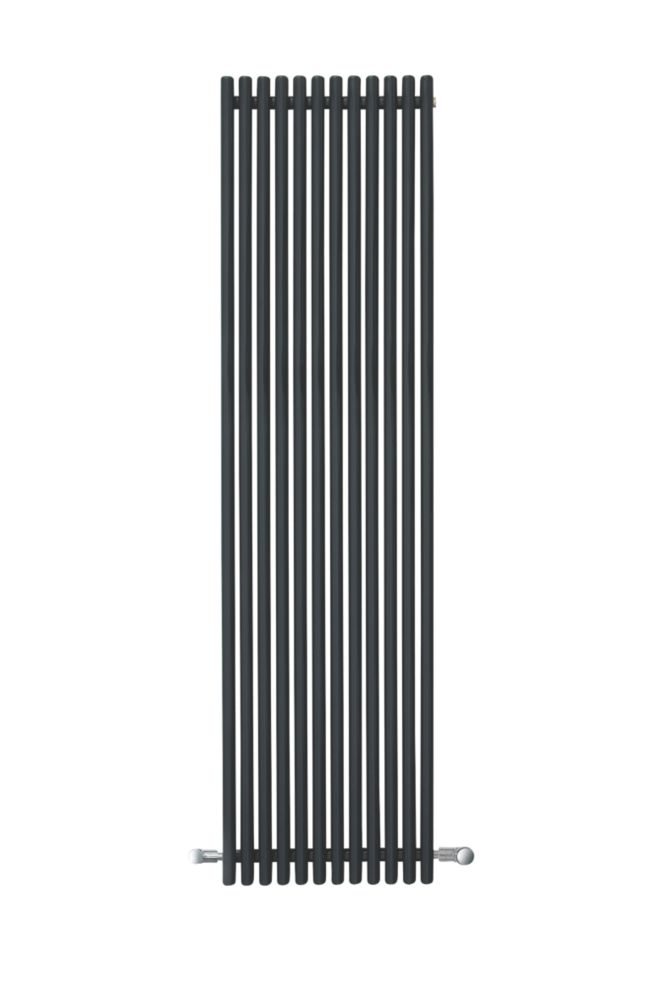 Espacio Vertical Designer Radiator Anthracite 1800 x 470mm 3904BTU