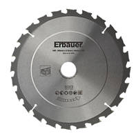 Erbauer TCT Saw Blade 250 x 30mm 24T