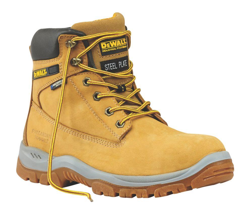 DeWalt Titanium Safety Boots Honey Size 8
