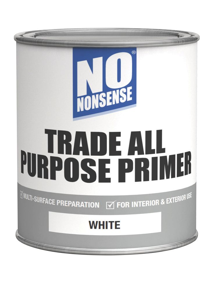 No Nonsense All Purpose Primer White 750ml