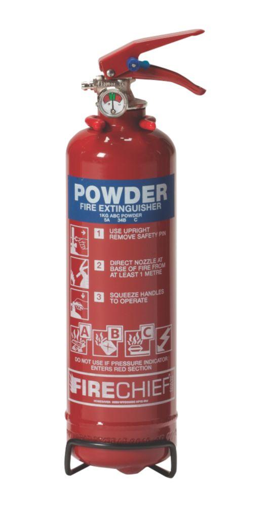 Firechief Fire Extinguisher Dry Powder 1kg