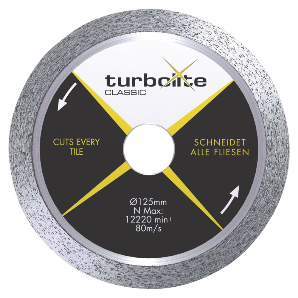 Marcrist Turbolite Classic Diamond Blade 115 x 22mm