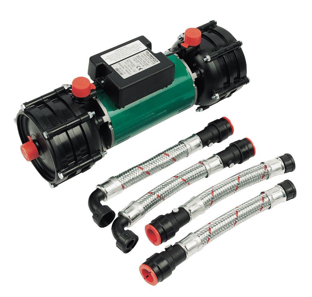 Salamander RSP100 Twin Positive Head Centrifugal Shower Pump 3bar