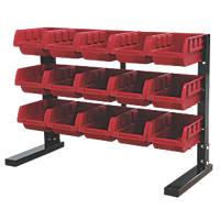 Hilka Pro-Craft Storage Rack 15-Bin