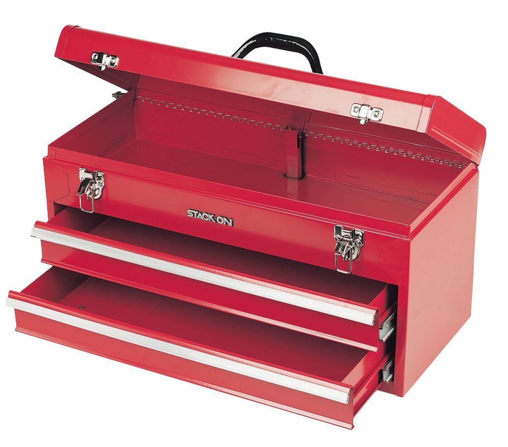 "Stack On 2 Drawer Tool Chest 20"" 510×220×260"