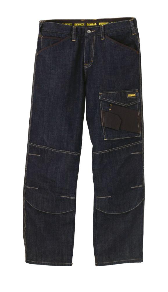 "DeWalt Work Jeans Blue 36"" W 31"" L"