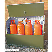 Trimetals Senturion 447 LP Gas Cylinder Store 6' 2 x 2 x 1.5m