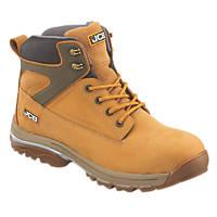 JCB Fast Track Safety Boots Honey Size 12