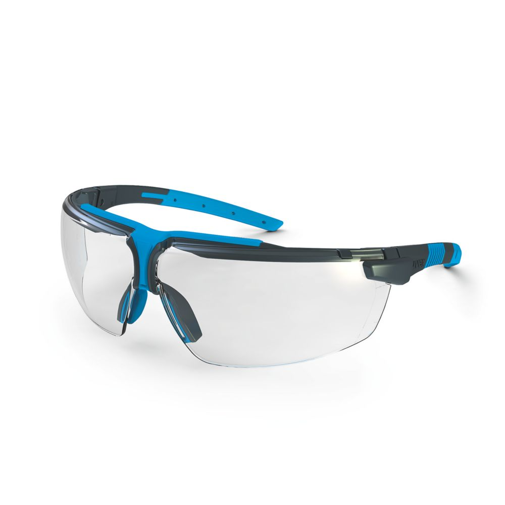 Uvex I-3 Specs Clear Anthracite Blue
