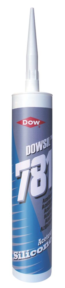 Dow Corning Acetoxy Silicone Sealant 781 White 310ml