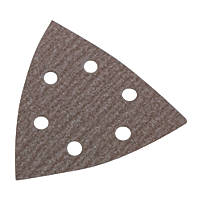Norton Expert Delta Sanding Triangles Punched 100 x 95mm 180 Grit 5 Pack