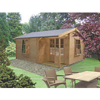 Ringwood Log Cabin 3.6 x 4.2m