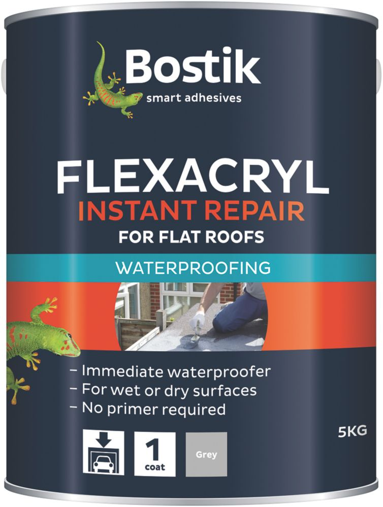 Laybond Flexacryl Roof Repair Compound Grey 5kg
