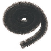 FloPlast  Gutter Brush 12m  Black