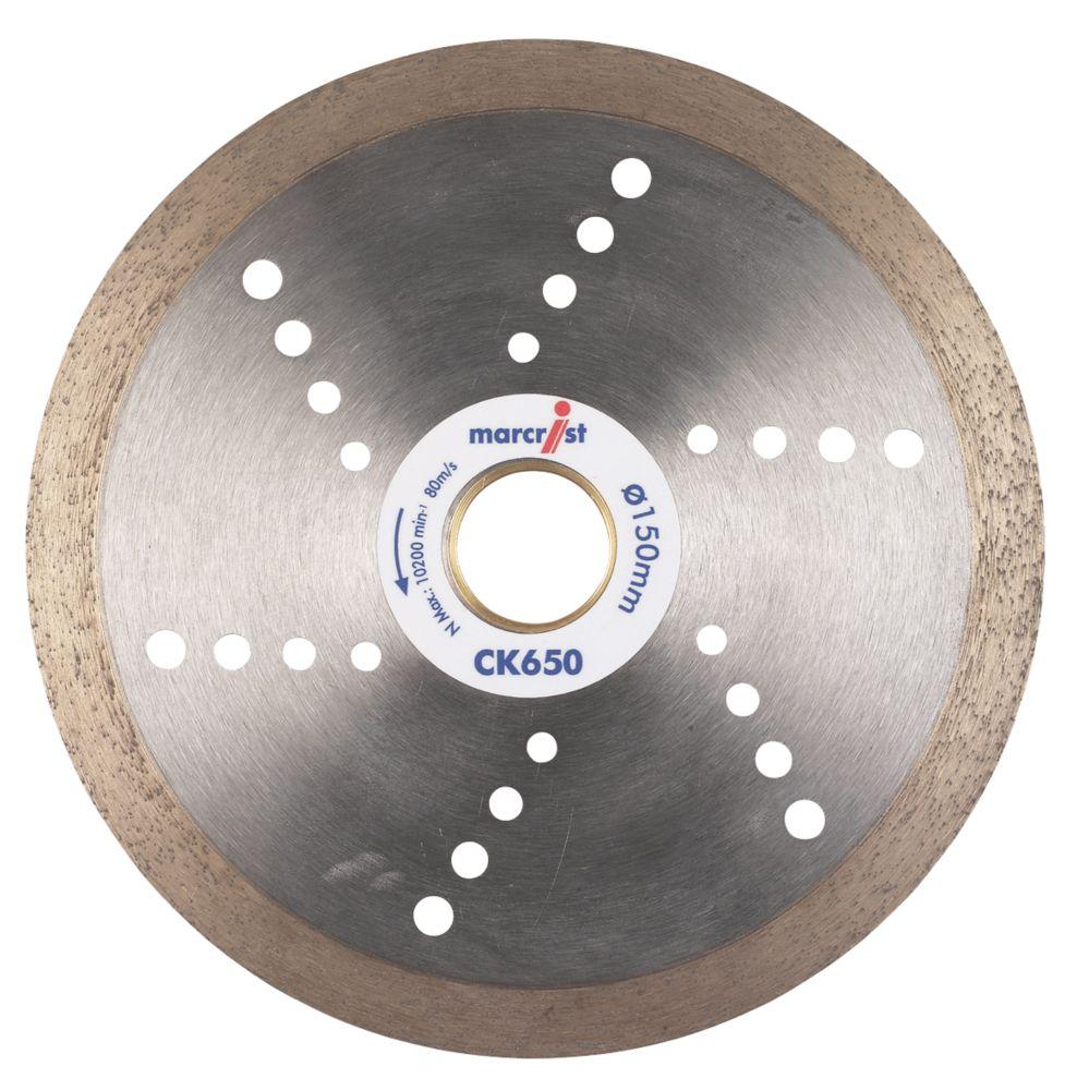 Marcrist CK650 Tile Cutting Diamond Blade 150 x 22.23mm