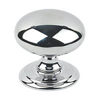 Carlisle Brass Door Knob Polished Chrome