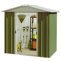 Yardmaster Sliding Door Apex Shed 6 x 4' 6""