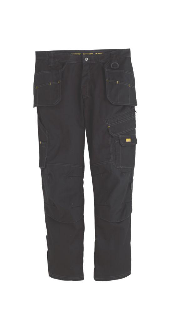 DeWalt Low Rise Trousers Black 38W 31L