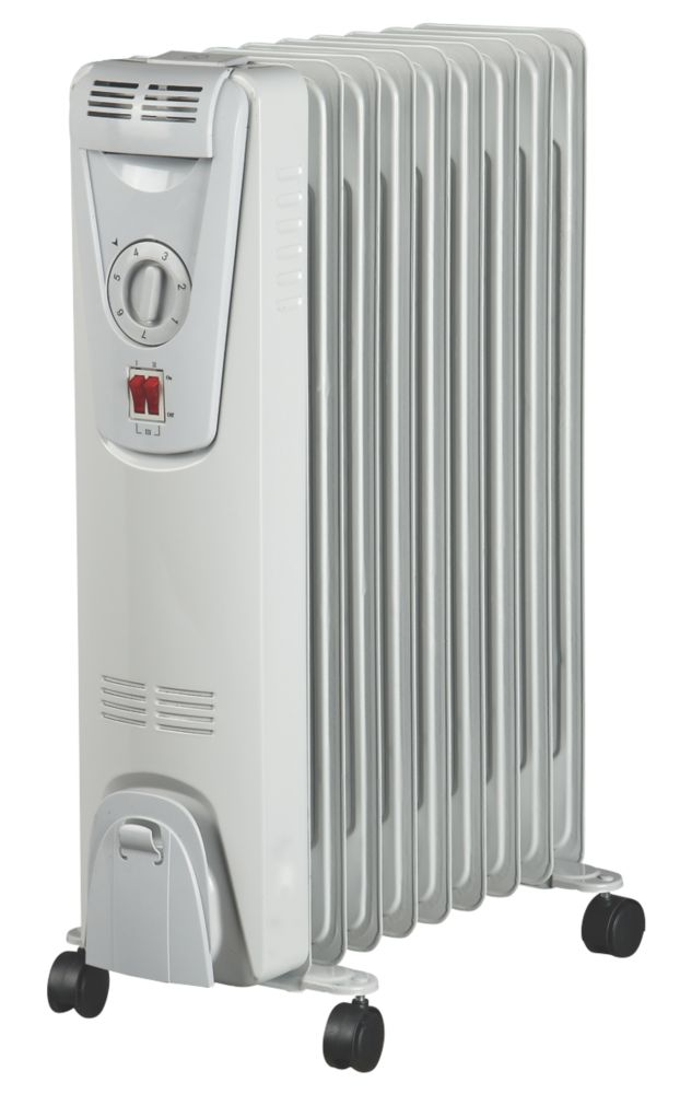 9 Fin Oil-Filled Radiator 2kW