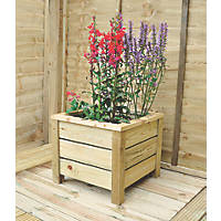 Forest Square Planter  410 x 410 x 353mm 2 Pack
