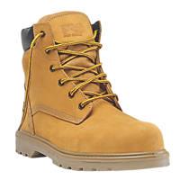 Timberland Pro Hero Safety Boots Wheat Size 12