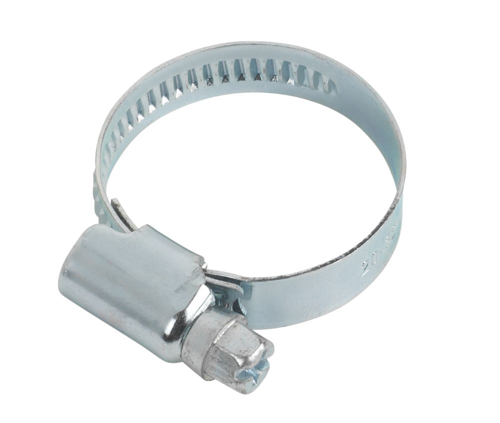 BZP Hose Clips 20-32mm Pack of 10
