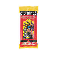 Big Wipes Heavy Duty Scrub & Clean Wipes Blue 40 Pack