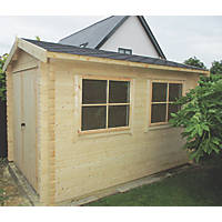Shire Quantock Log Cabin 2.3 x 2.9m