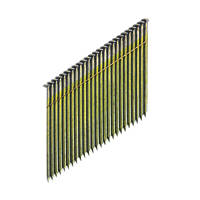 DeWalt Galvanised Collated Framing Stick Nails 3.1 x 90mm 2200 Pack