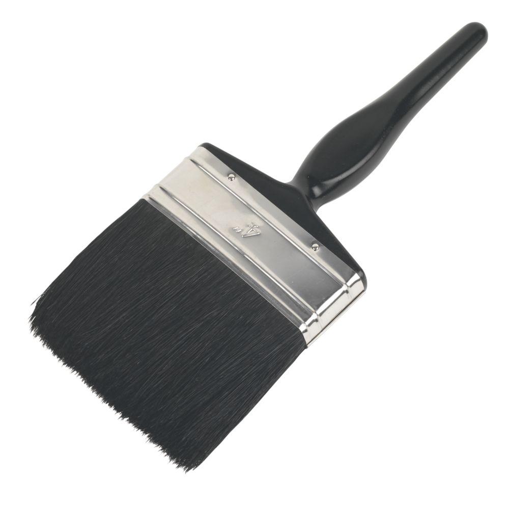 "No Nonsense Pure Bristle Paintbrush 4"""