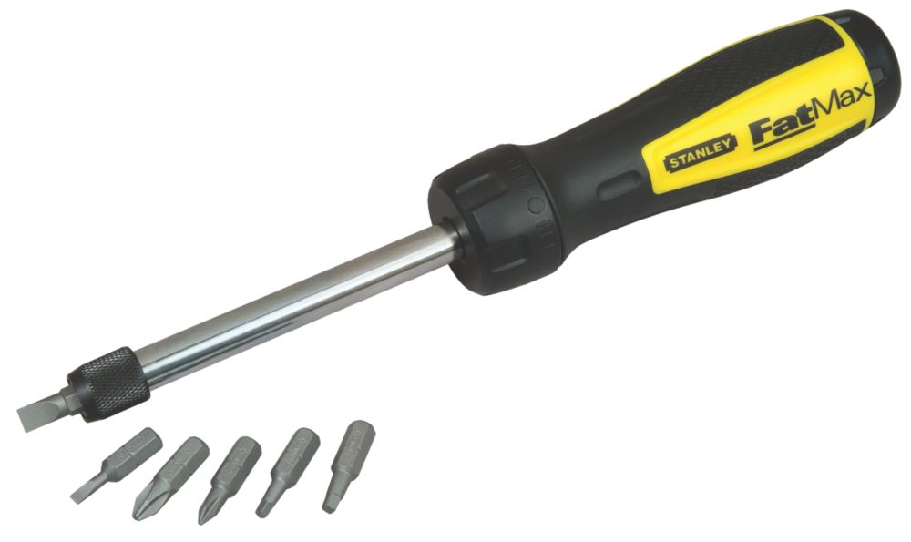 Stanley FatMax Multi-Bit Ratcheting Driver