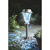 Cole & Bright Gardman Solar Post & Table Light Stainless Steel