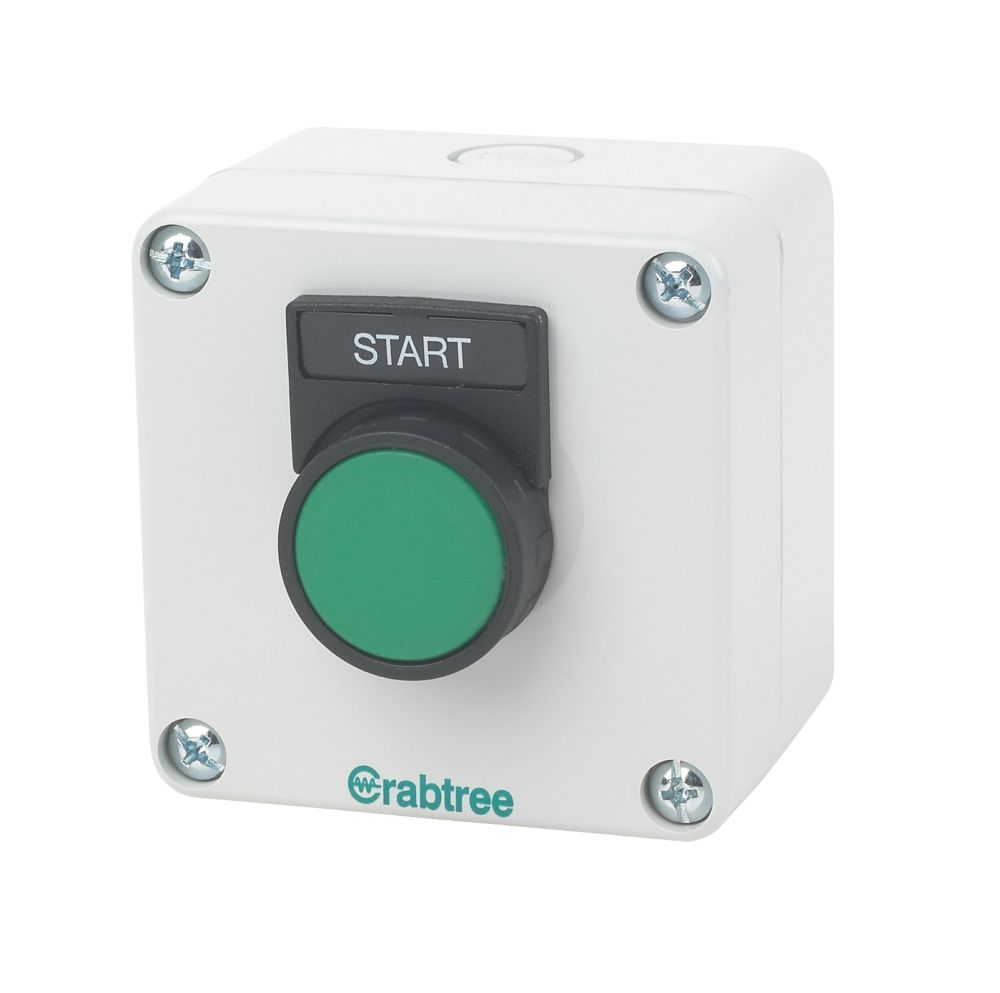 Crabtree 1-Way Start Push Button