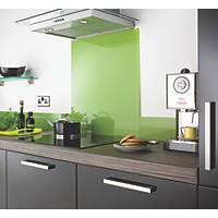 Lime Self-Adhesive Toughened Glass Splash Back 600 x 750 x 6mm