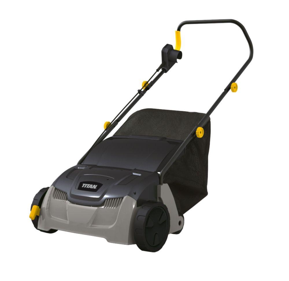 Titan TTB428GDO 32cm 1300W Lawn Scarifier 230V
