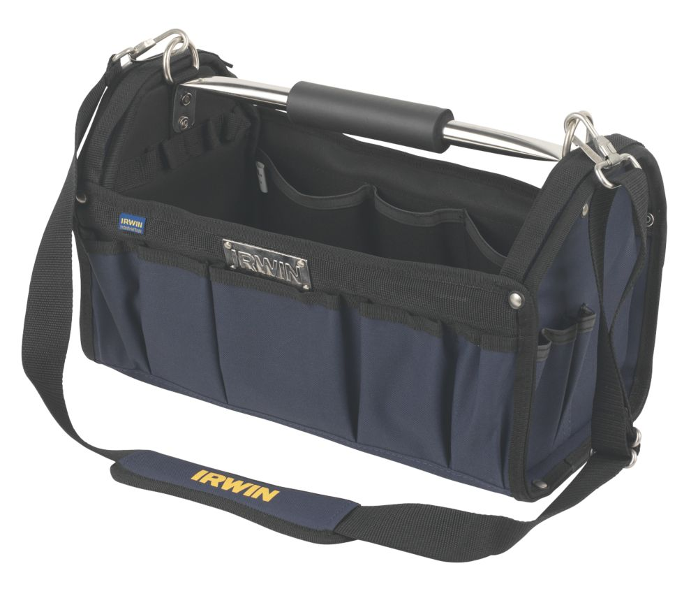 Irwin Open Top Tool Tote Bag 17""