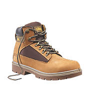 Site Quartz Safety Boots Honey Size 7