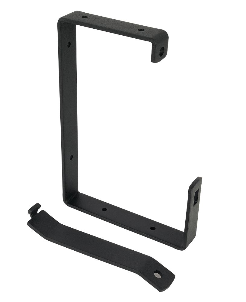 Ladder Brackets Black 170mm Pack of 2