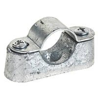 Deta Galvanised Heavy Distance Saddles 20mm Pack of 10