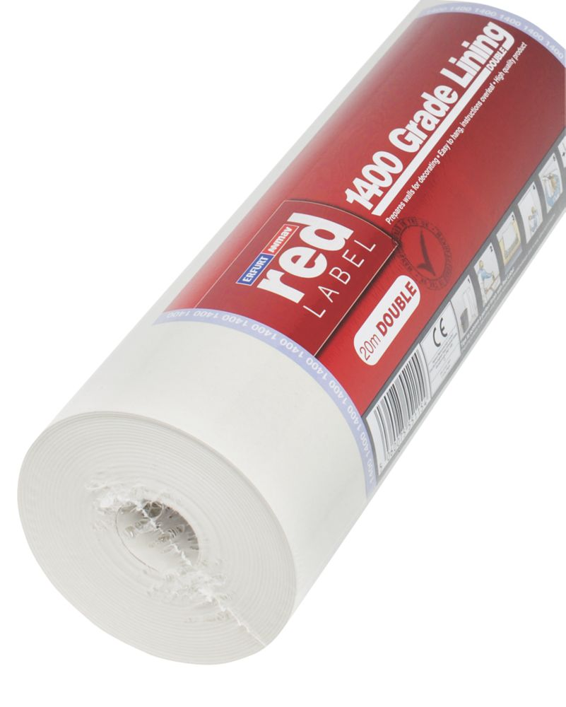 Erfurt Red Label Double Lining Paper 1400 Grade 20m