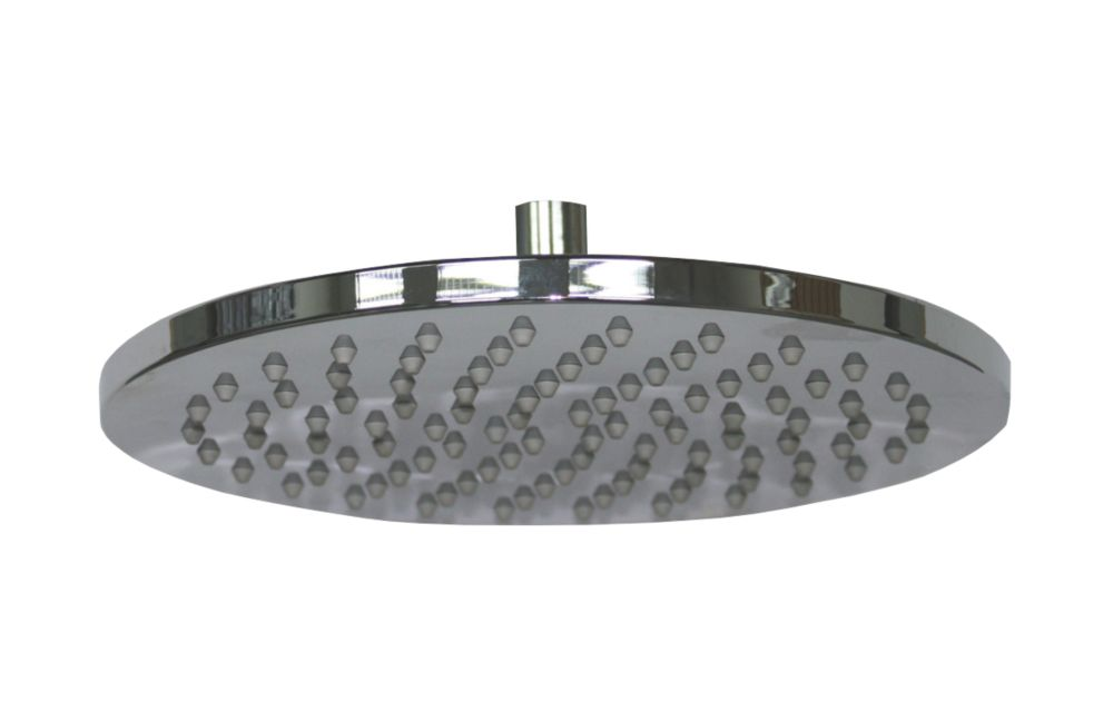 Moretti Ultra Slim Round Shower Head Fixed Chrome 200 x 65mm